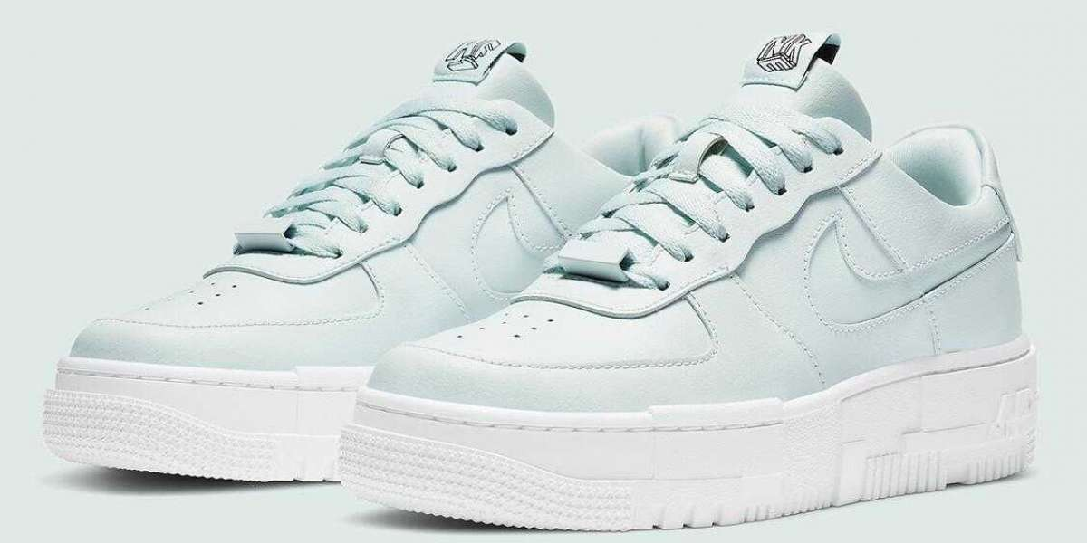 2020 Nike Air Force 1 Pixel Ghost Aqua Release the Womens Size