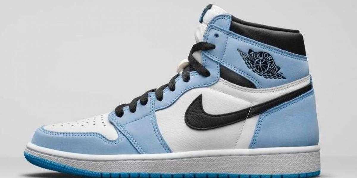 Save 30% to Buy Air Jordan 1 High OG University Blue Basketball Shoes